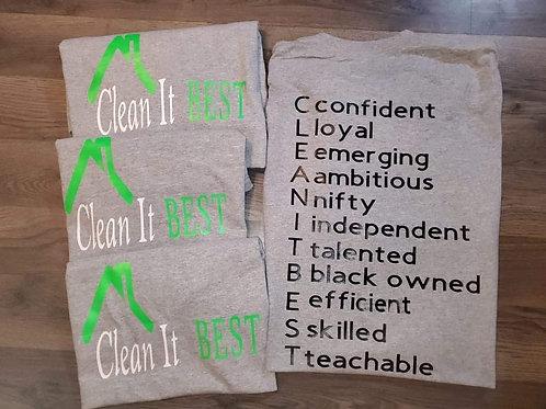Clean It Best T-Shirt