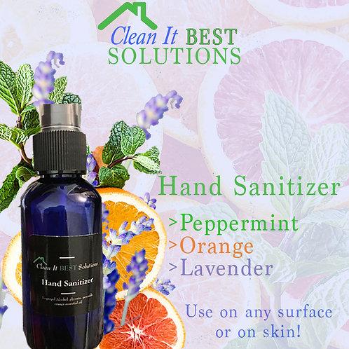 Clean It Best Solutions Hand Sanitizer - Blue Bottle