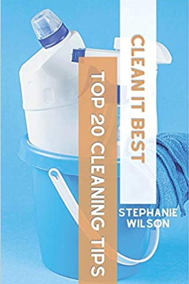 Hardcover Clean It Best Top 20 Cleaning Tips