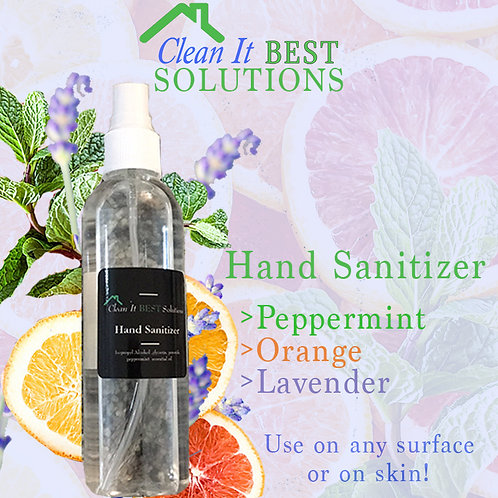 Clean It Best Solutions Hand Sanitizer - Clear Bottle
