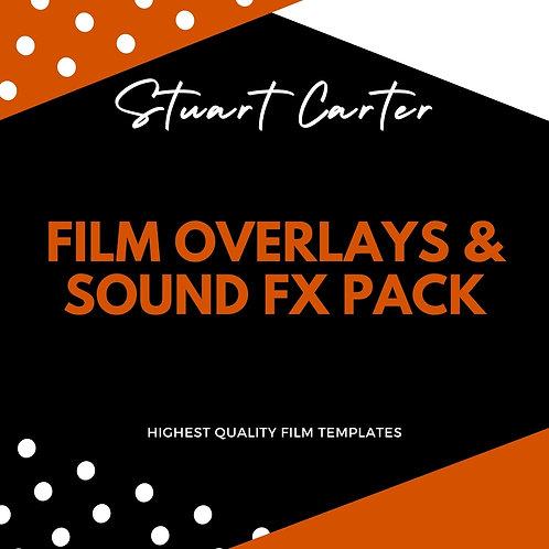 Film overlays & Sound FX pack