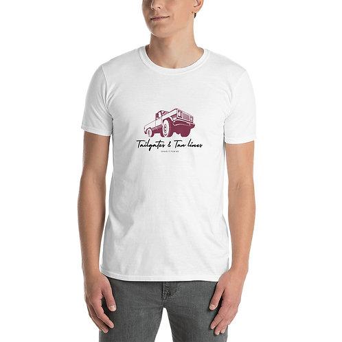 TAIL GATES & TAN LINES Short-Sleeve Unisex T-Shirt