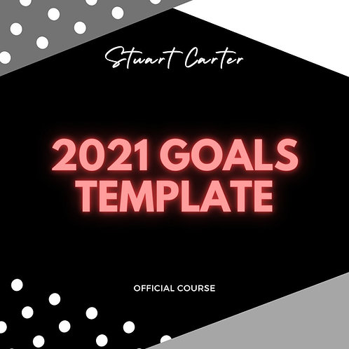 The Ultimate 2021 Goals template