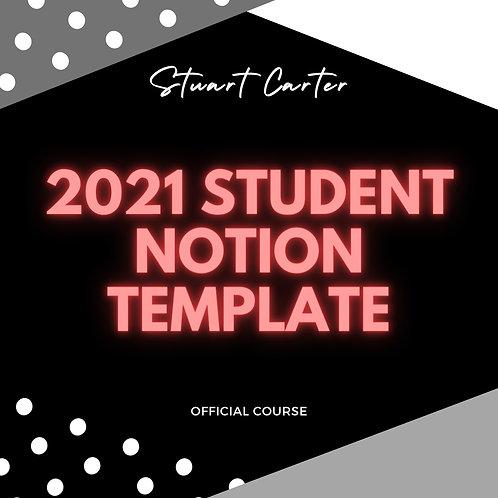Stuart Carter Official Student Notion Template