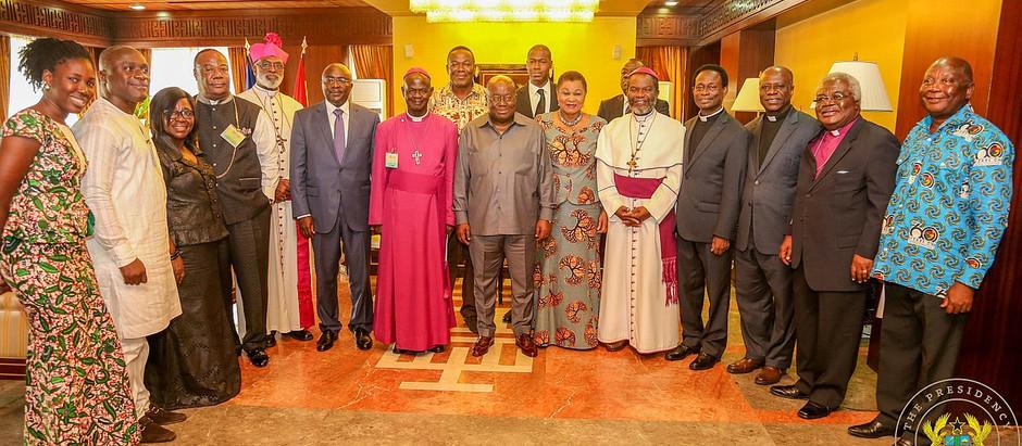 President Akufo-Addo inaugurates 13-member Cathedral Trustee board