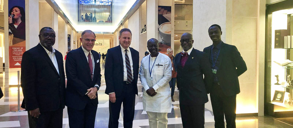 Finance Minister and NCG Executive Director visit Museum of the Bible