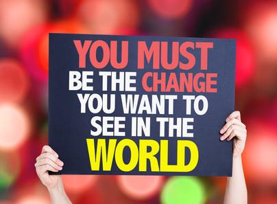 להיות השינוי