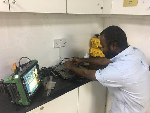 Phased array ultrasonic testing (PAUT) - Level I