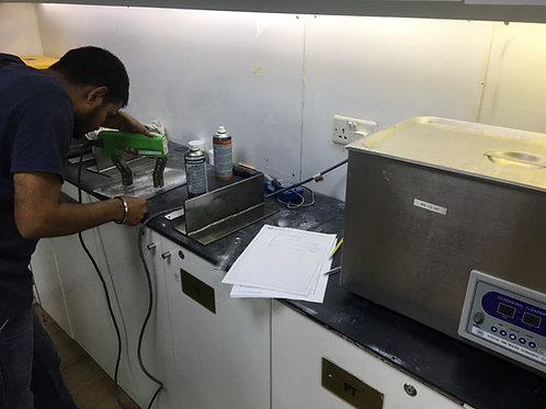 Magnetic Particle Testing - Level III