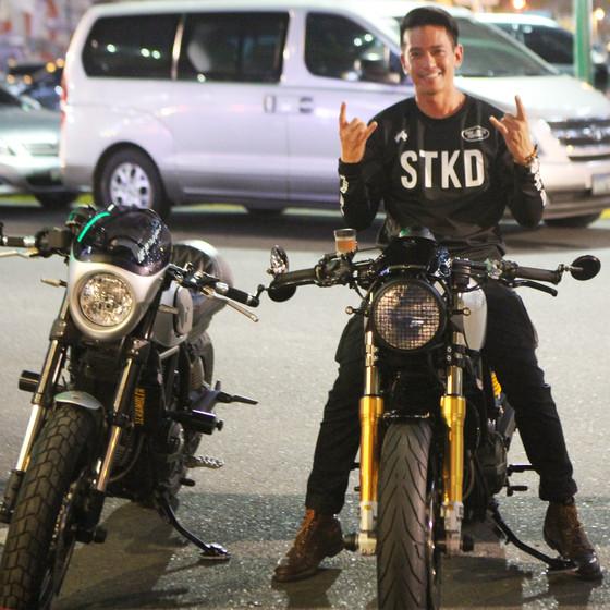 STKD Surf Moto Custom's Begining of Journey