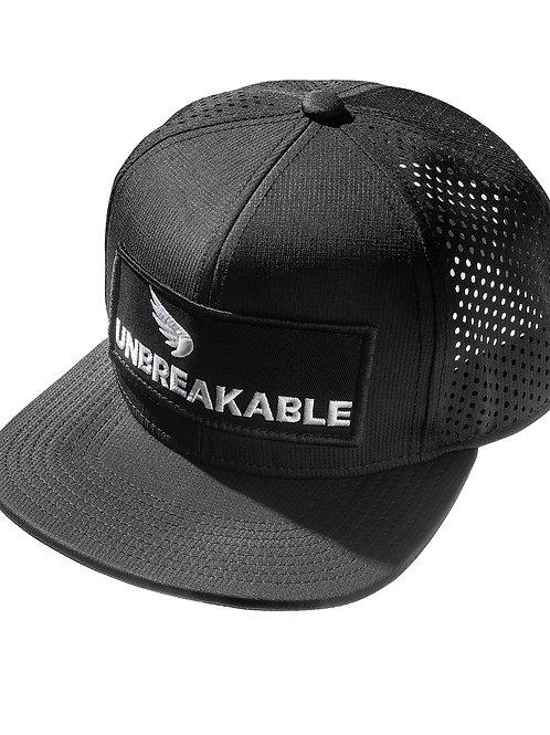 UNBREAKABLE TRUCKER CAP - PATCH (BLACK-WHITE)