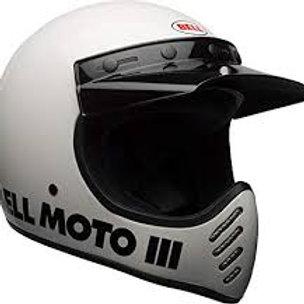 BELL MOTO 3 WHITE