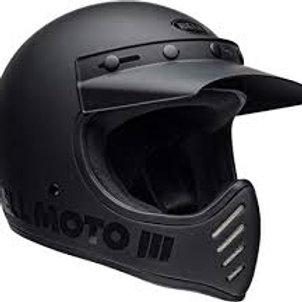 BELL MOTO 3 MATT BLACK