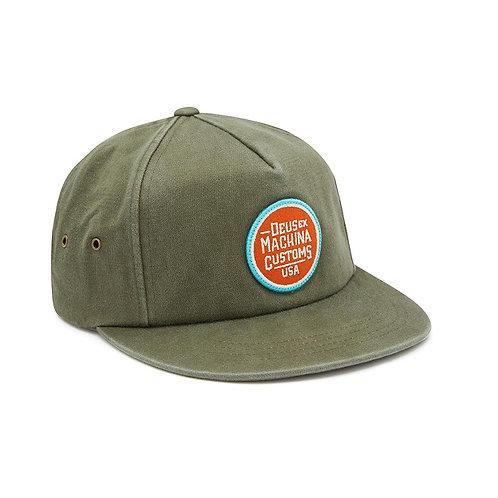 DEUS CLAY CAP ARMY GREEN