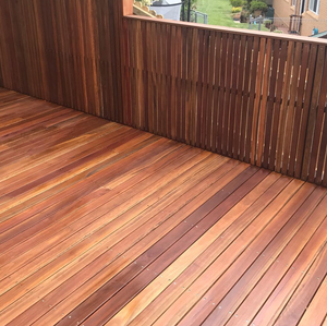 Spotted gum Deck and Screen