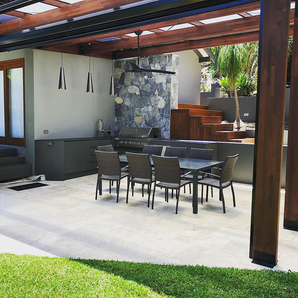 Outdoor kitchen Northern Beaches