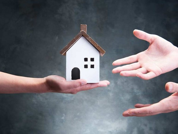 Inheriting a house