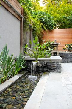 Asian inspired Water Feature