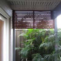 Timber Privacy Screen Small