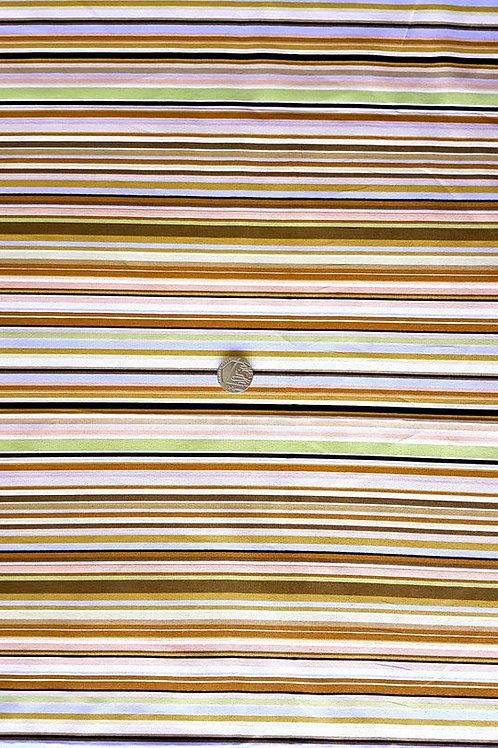 Rose & Hubble 100% Cotton Poplin Fabric - PS designer style stripe