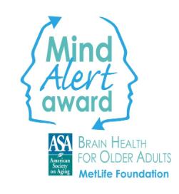 Mind Alert Award