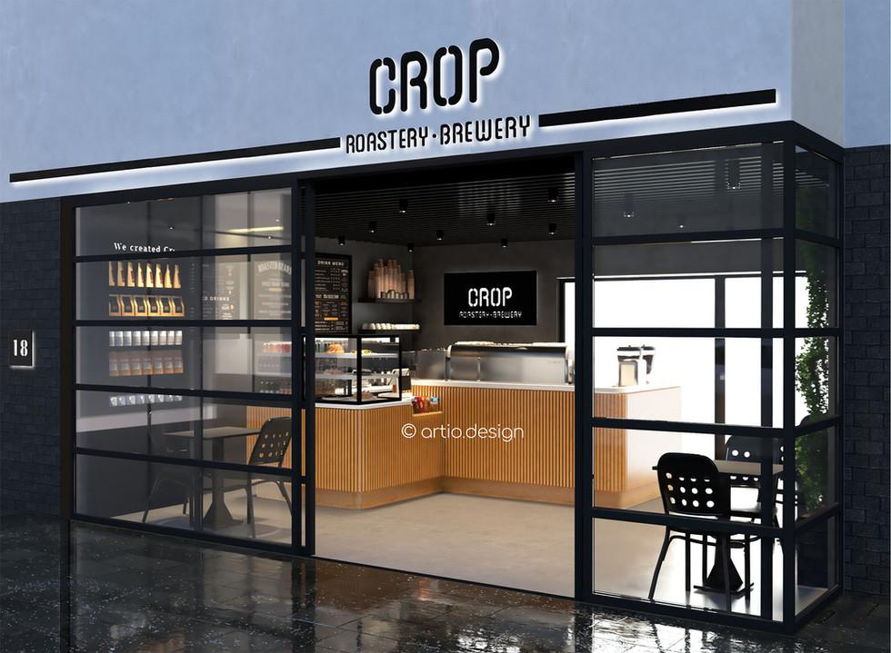 GREECE    Heraklion   400 sq.ft. F&B (Cafe) Interior Design & Branding
