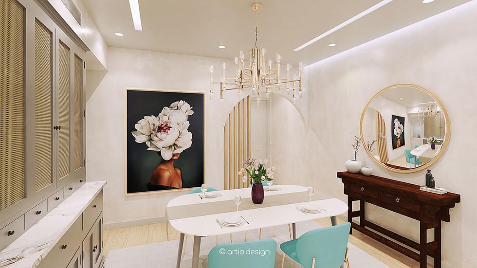 HONG KONG   Tsuen Wan   1,200 sq.ft. Residential Interior Design