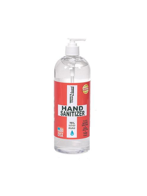 CleanzGuard Hand Sanitizer Gel 32oz Bottle