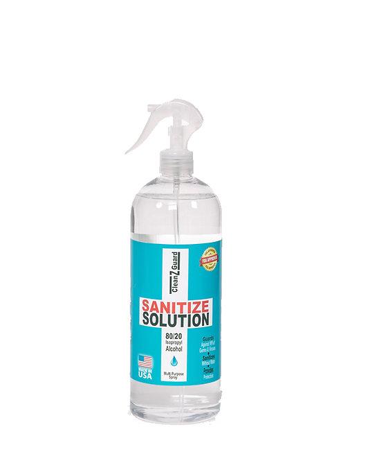 CleanzGuard Sanitize Solution 32 oz