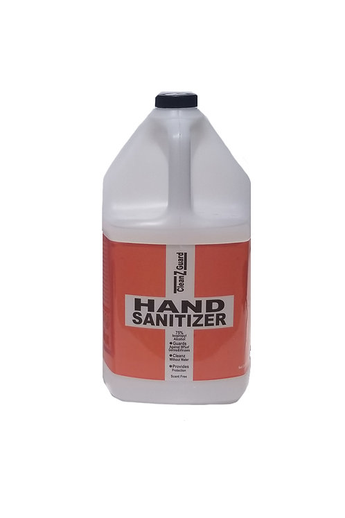 Dist. CleanzGuard Gel Hand Sanitizer 1 Case 4ct gallon