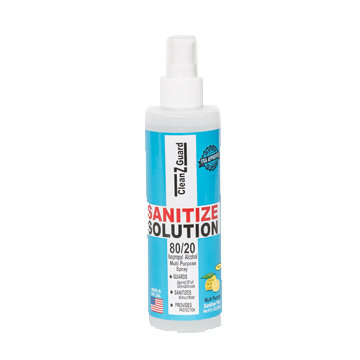 CleanzGuard Sanitize Solution 4 oz