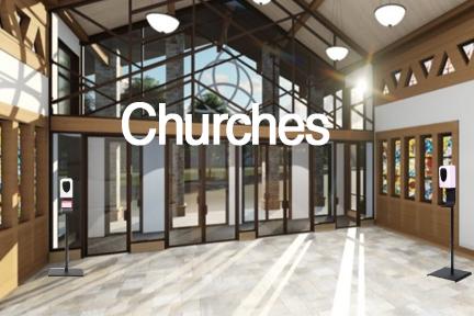 6x4 churchwht