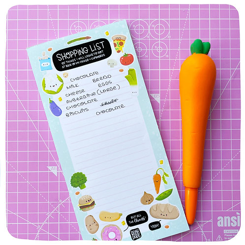 Shopping List of Things I Will Leave to Rot Pad