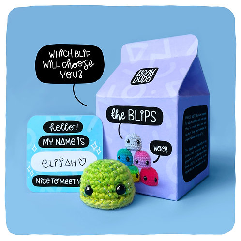 Blind Box Blips - Miniature Weighted Comfort 'Toy'