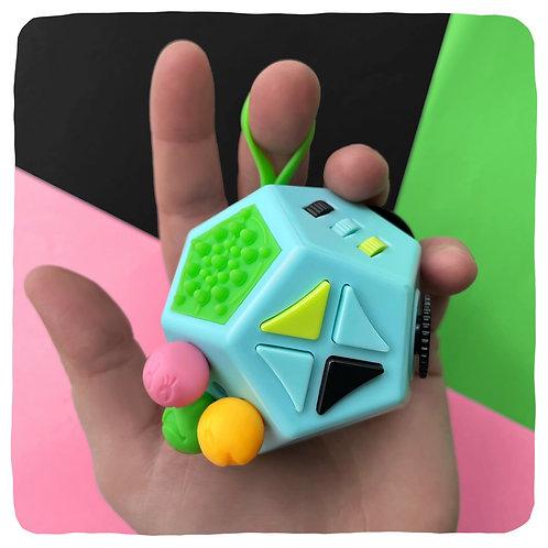 "12 Sided Fidget ""Cube"" - Fidget/Stim Toy!"