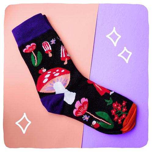 Fairy Badass Woodland Socks