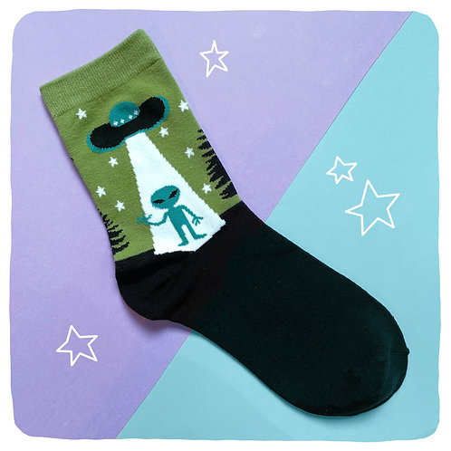 'Probed' Alien Socks