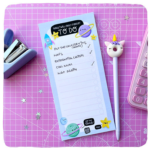 'Things I Will Likely Forget TO DO' List Pad