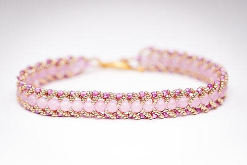 Hand stitched bracelet