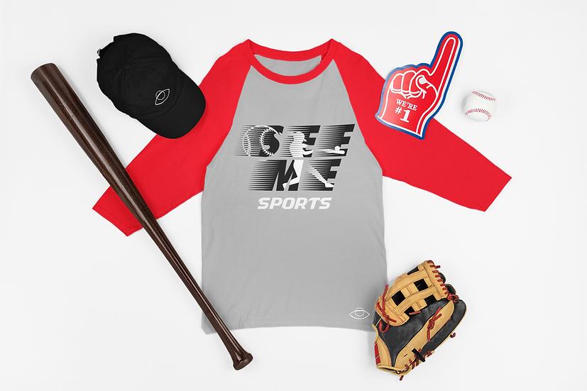 See Me Sports Baseball Tee