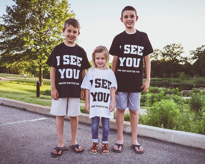 """Kids I See You """"Basic Tee"""""""