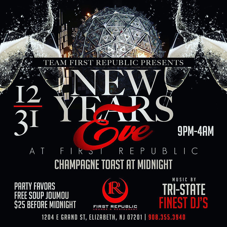 FIRST REPUBLIC NEW YEAR'S EVE CELEBRATION 2019!