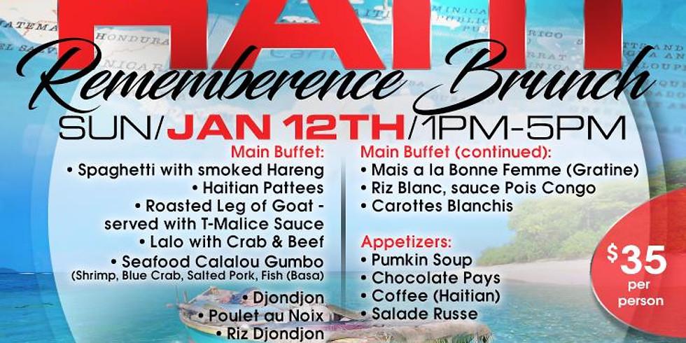 Haiti Remembrance Brunch