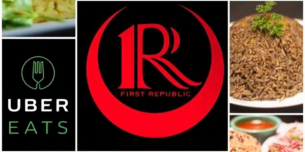 Lunch at First Republic Lounge and Restaurant