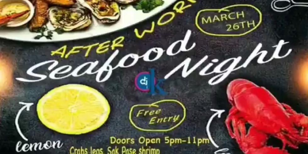 DJ OK Presents Seafood Tuesdays