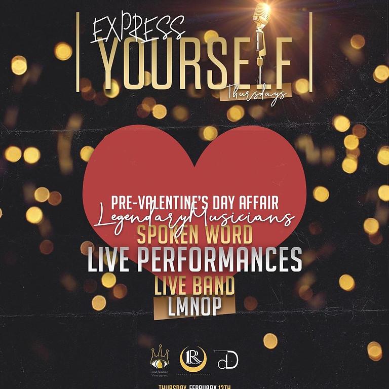 Spoken Word - Pre Valentines Day Affair