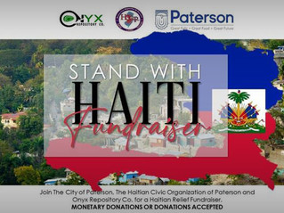 Paterson Stands with Haiti