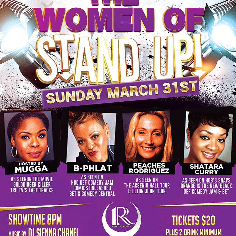 THE WOMEN OF STAND UP!