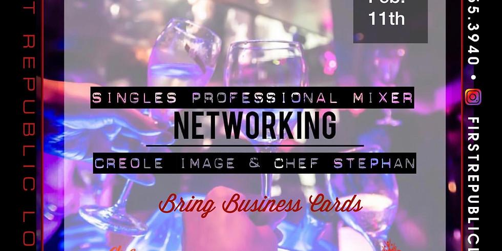 Single Professional Networking Mixer