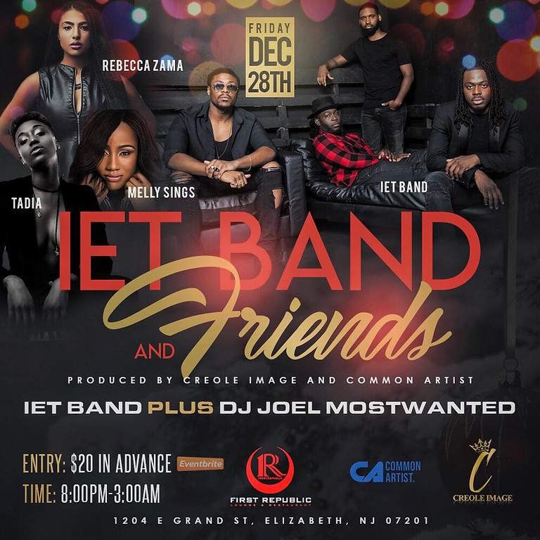 HOLIDAY PARTY w/ IET BAND AND FRIENDS